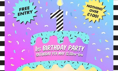 Wasted Chic 1st Birthday Flyer